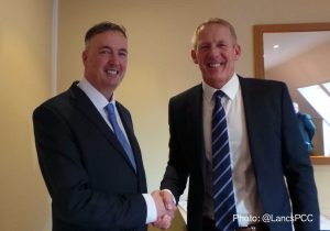 The Commissioner congratulates Andy Rhodes on his appointment.