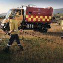 Dual purpose Unimogs conquer ice and fire in Cumbria