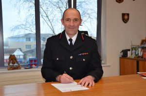 Oxfordshire Simon Furlong Chief Fire Officer Oxfordshire County Council Fire and Rescue Service
