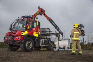 Unimog Suffolf Fire and Rescue