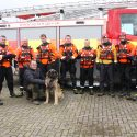 Water rescue dogs join South Yorkshire firefighters in training