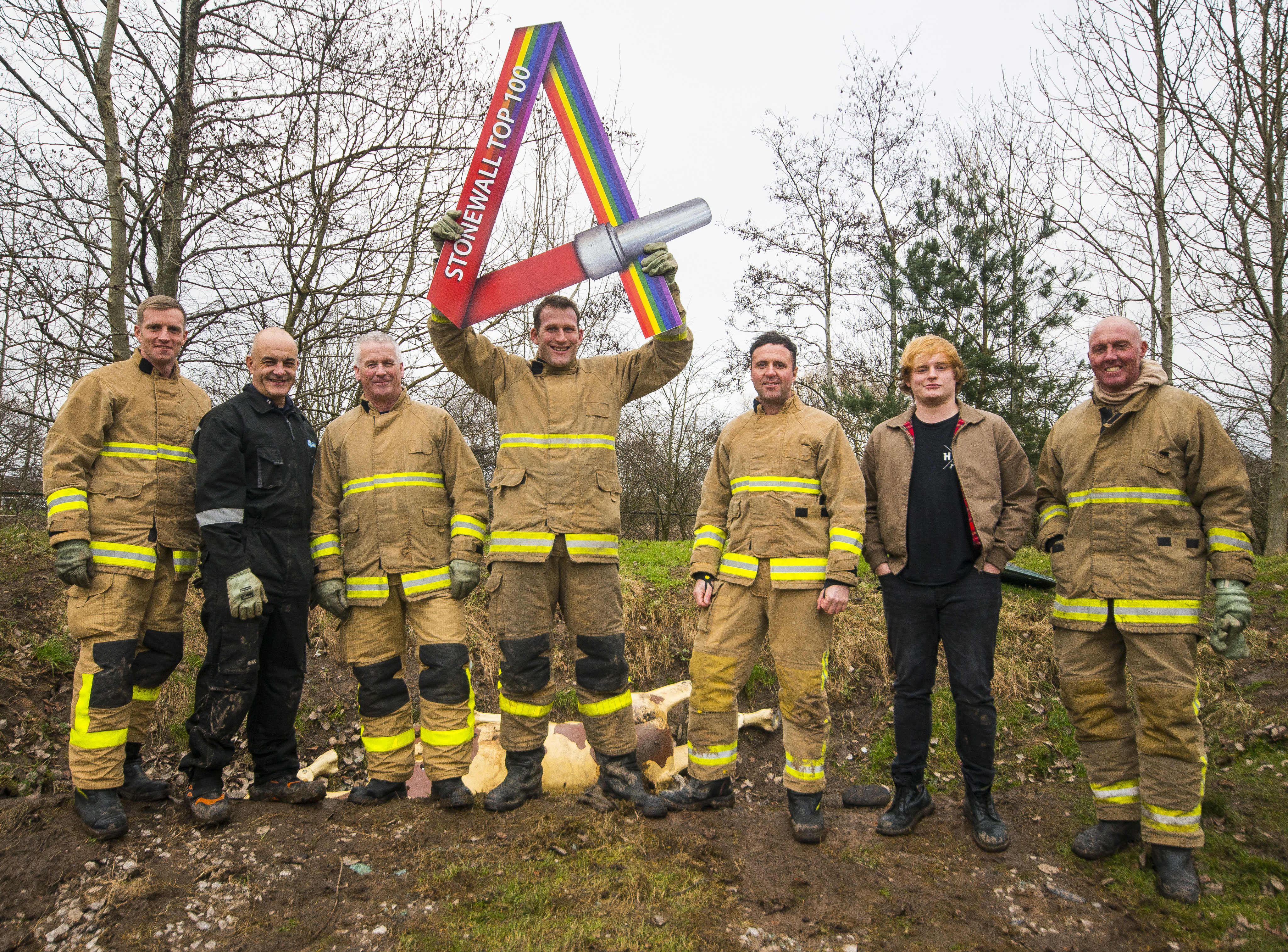Emergency services shine as LGBT inclusive employers