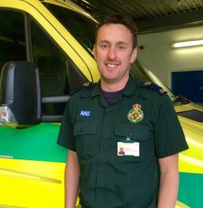 Consultant Paramedic Steve Bell.