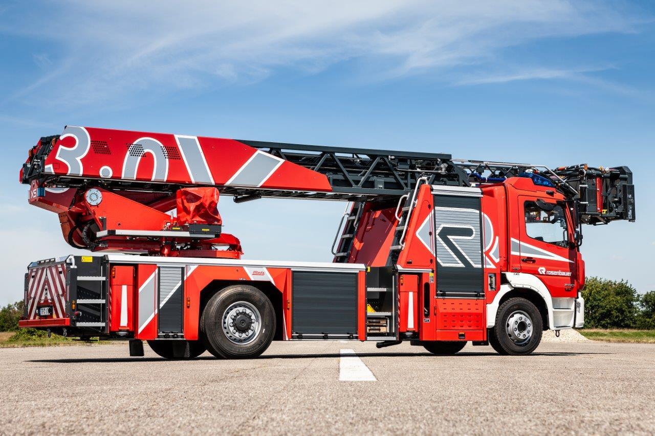 Rosenbauer launches premium aerial ladder