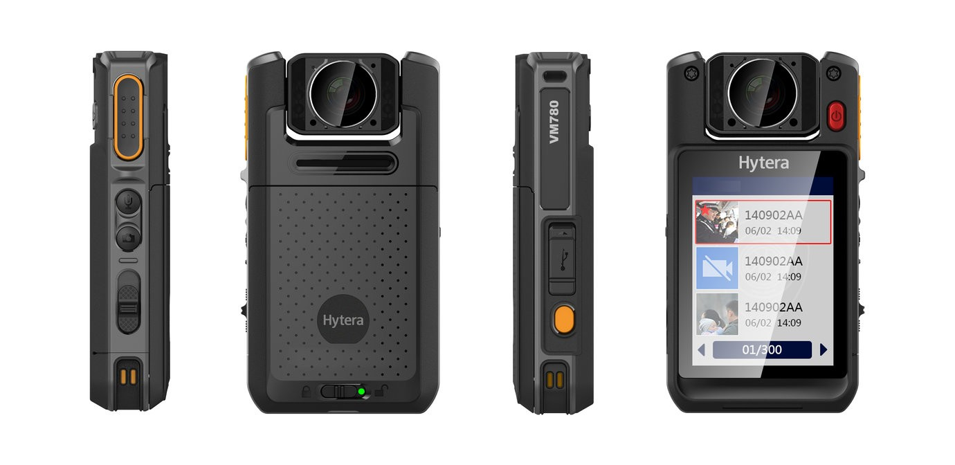 Hytera Launches 'all In One' Bodycam