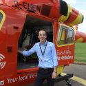 Student placement inspired Chris to become an air ambulance doctor