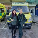 Ambulance service 'flu angels' help vaccinate frontline staff