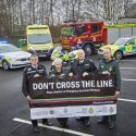 Emergency services join forces to say 'Don't Cross the Line'