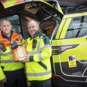 Highways England Traffic Officers equipped with life-saving defibrillators