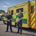London emergency services 'blues brothers' paired up on front line to tackle COVID-19