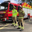Oxfordshire firefighters launch new lightweight, safety-first uniform