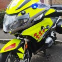 Blood bikes being seen, being heard and helping hospitals save lives