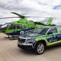 Great Western Air Ambulance Charity unveils new critical care car
