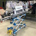 Unique trolley designed for neo-natal transport service