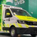 St John Ambulance unveils new  'box-body' style ambulance