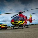 Safety helmets protecting Thames Valley's air ambulance life savers