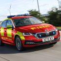 Charging forward: ŠKODA announces fleet of electrified blue light models