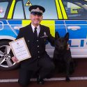 GMP officer's hard work fetches him the Gary Mathieson Dog Handler of the Year Award