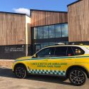 Lincs & Notts Air Ambulance receives keys to new headquarters