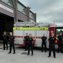Devon and Somerset on-call firefighters make history